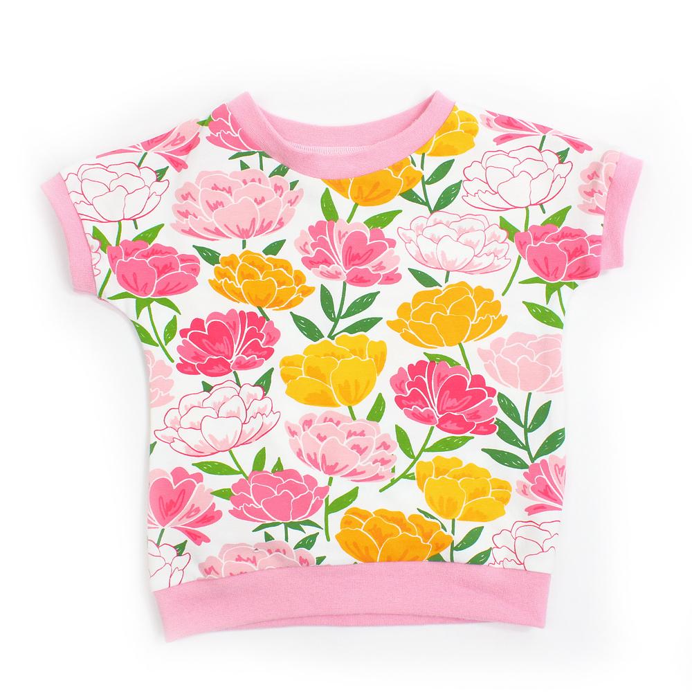 """BIO T-Shirt """"Pfingstrosen"""""""